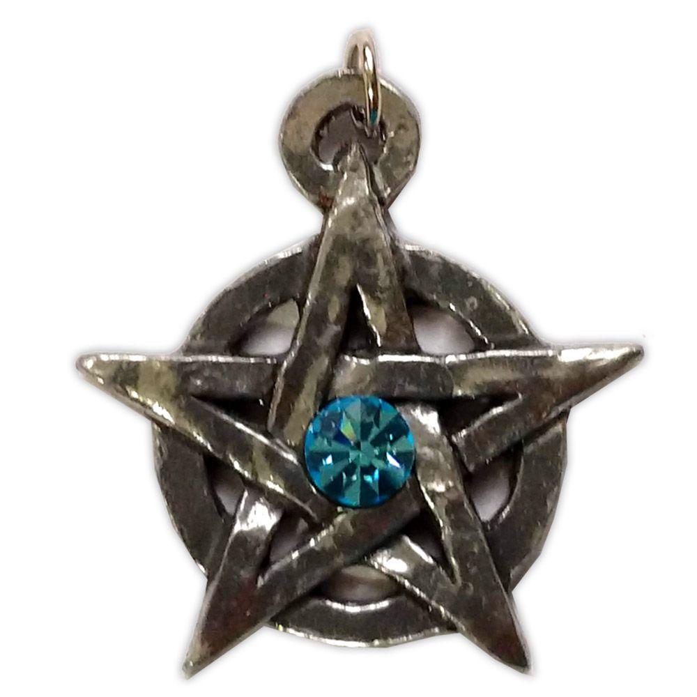 Talismã Pentagrama - Medieval Swarovski