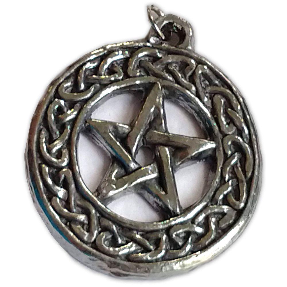 Talismã Pentagrama - Nó Celtico