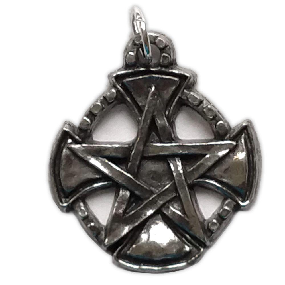 Talismã Pentagrama - Templários