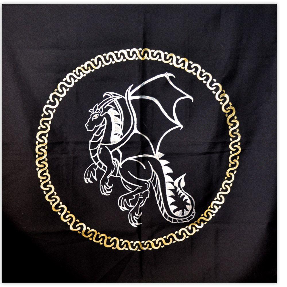 Toalha de Altar - Dragão no Círculo
