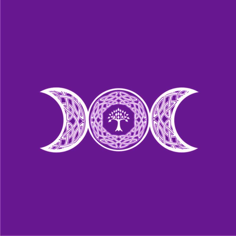 Toalha de Altar Triluna - Roxa