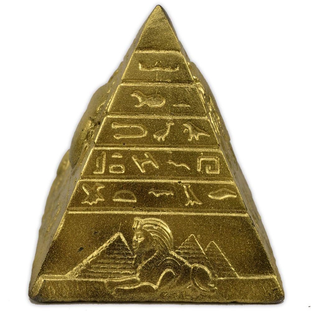Trio de Pirâmides - Dourado