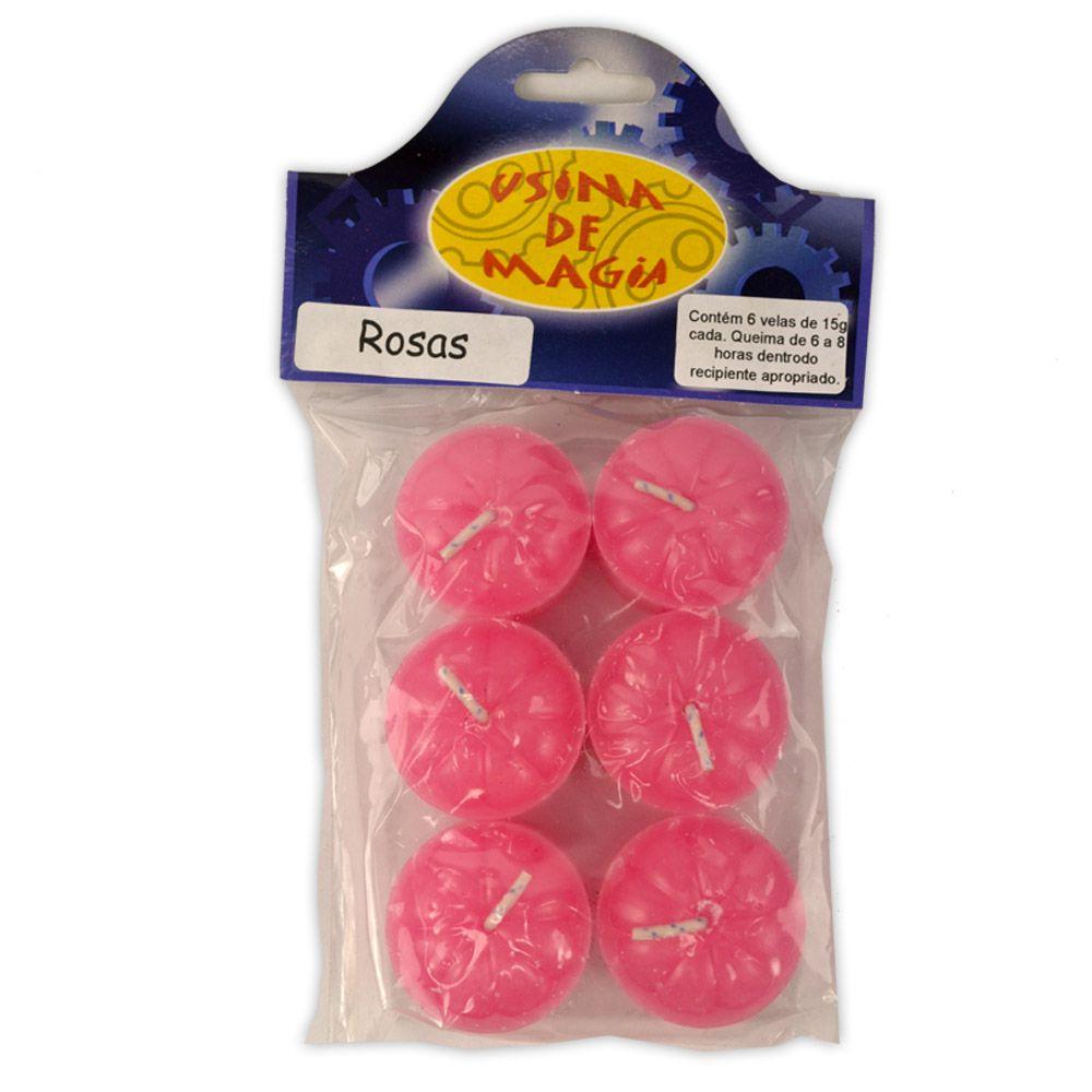 Vela Rechaud Aromática - Rosas