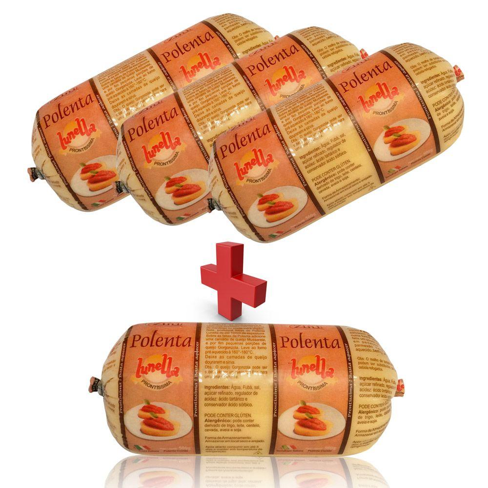 PROMOÇÃO! Polenta Lunella® 500g COMPRE 3 e LEVE 4