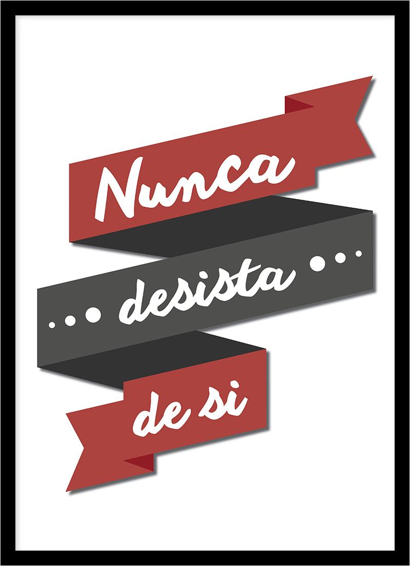 QUADRO NUNCA DESISTA DE SI
