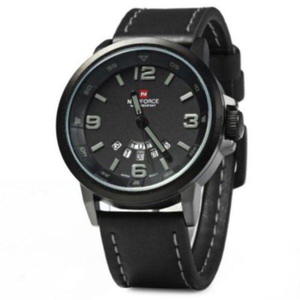 8e8dded2bb4 ... Relógio Masculino Naviforce Nf9028 Quartz Pulseira De Couro - REIS  TSOUZA ...