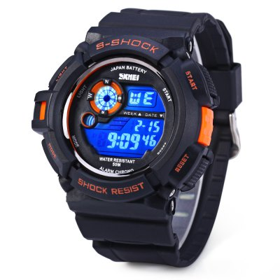 e2764cd801c ... Relógio Skmei 0939 Multifuncional Esporte Digital Led 50m - REIS TSOUZA  ...