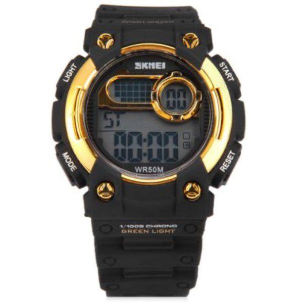 15379695c7c ... Relógio Skmei 1054 Led Esporte Digital 5atm Alarme Data Hora - REIS  TSOUZA