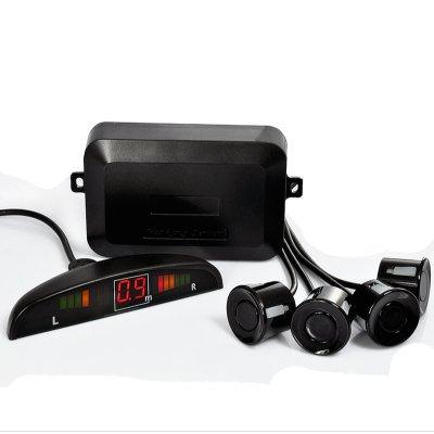 Sensor de Estacionamento para veículos - 4x Sensors, Relógio de Distância
