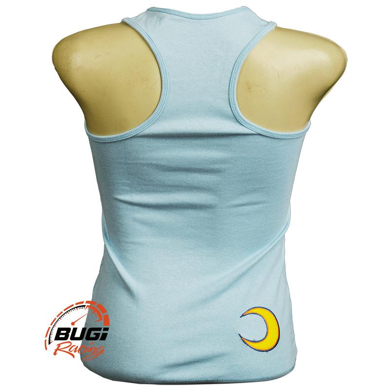 Camiseta Feminina Regata Valentino Rossi Sol e Lua - Bugi Racing ... 89d89c572e035
