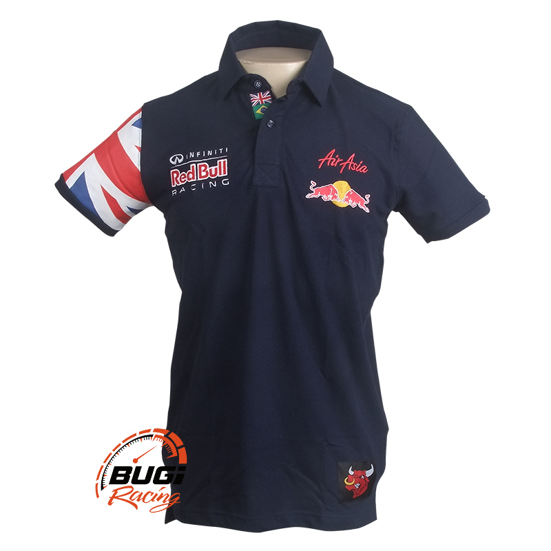 Camisa Polo Masculina Red Bull Air Asia 53147c2795b