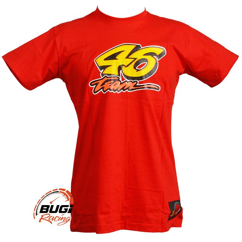 Camiseta Masculina Sol e Lua Valentino Rossi 46 - Bugi Racing Motos ... 8f02d8df98bde