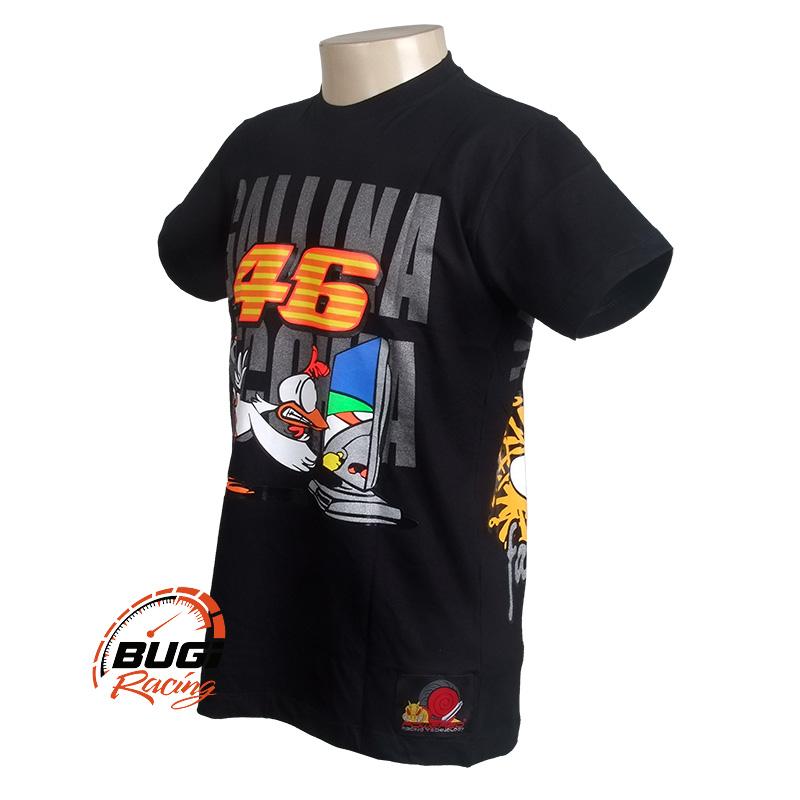Camiseta Masculina Valentino Rossi 46 Gallina Vecchia - Bugi Racing ... 8745c0acefb6c