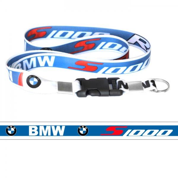 449df3a4d2c41 Chaveiro Cordão com Fecho BMW S1000RR Azul