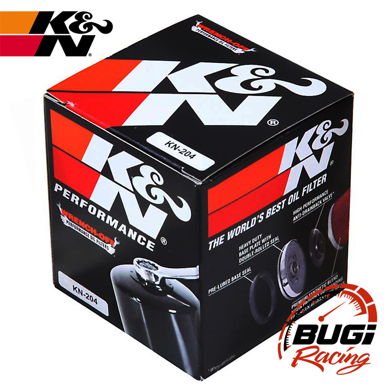 782cd2ef4 Filtro Óleo K&N Honda CBR600RR/1000RR/CB1000R/Hornet KN-204 - Bugi ...
