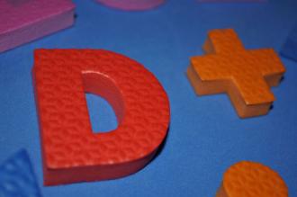 Alfabeto – Números e Sinais (EVA)