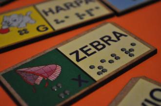 Dominó para Alfabetização Braille