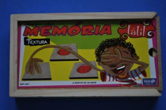 JOGO DA MEMÓRIA TÁTIL - TEXTURA