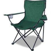 Cadeira Dobrável Camping Alvorada + Bolsa Nautika Pesca