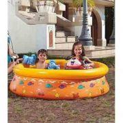 Piscina Infantil 520 Litros Estampada Inflável Splash Fun