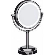 Espelho Dupla Face De Aumento Com Iluminação Led