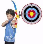Arco E Flecha Infantil Com Infravermelho Mira Em Led C/ Alvo