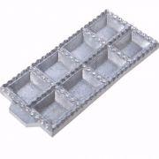 Forma Para Tortei Pastel Tortelone Aluminio 8 Cavidades