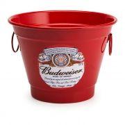 Balde de Gelo 6 Litros Personalizado Cerveja Budweiser