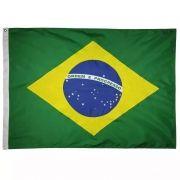 Bandeira do Brasil em Poliester Medidas 135cm x 95cm Copa