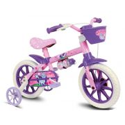Bicicleta Infantil Aro 12 Modelo Cat Nathor Feminina
