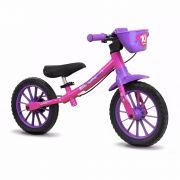 Bicicleta Infantil Balance Nathor Feminina