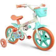 Bicicleta Infantil Sea Aro 12 Meninas Nathor
