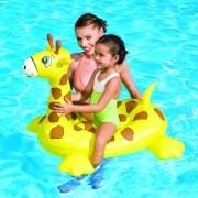 Boia Divertida Inflável para Piscina Girafa
