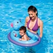 Boia Infantil para Bebê Elefantinho com Orifício para Pernas