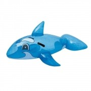 Boia Infantil para Piscinas Baleia Divertida Azul Bestway