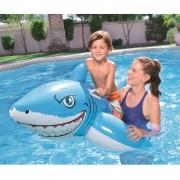 Boia Inflável Infantil Tubarão  1,83m x 1,02m Bestway