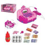 Caixa Registradora Infantil Swett Princess Luz Som e Acessórios