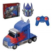 Caminhão Controle Remoto Transformes Optimus Prime