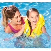 Colete Inflável Infantil Swin Safe Amarelo