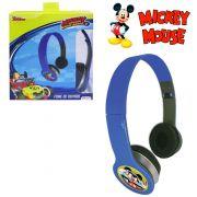 Fone de Ouvido Infantil Mickey Aventura sobre Rodas