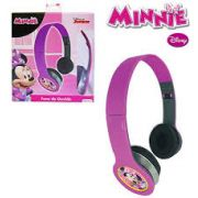 Fone de Ouvido Infantil Minnie