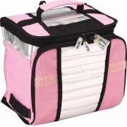 Ice Cooler 7,5 Litros Bolsa Térmica Mor 9 Latas 350ml Rosa