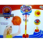 Kit Basquete Infantil com Base Bola e Inflador