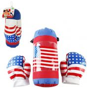 Kit Boxe Infantil com Luvas e Saco de Pancadas