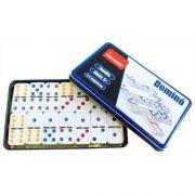Kit com 2 jogos - 1 Dominó Colorido e 1 Baralho 54 Cartas