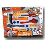 Kit Ferramentas Infantil com 17 Peças