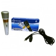 Microfone Profissional Dinâmico MS994 Prata