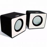 Mini Caixa De Som Speaker Cube 3w