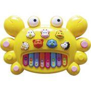 Piano Teclado Musical Siri Infantil Sons Eletronicos