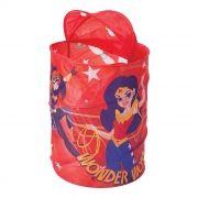 Porta Objetos Infantil Super Hero Girl Organizador de Brinquedos
